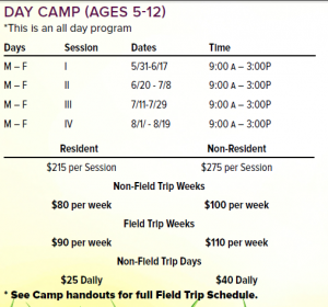 5-12 Day Camp