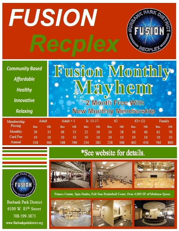 Fusion Monthly Mayhem
