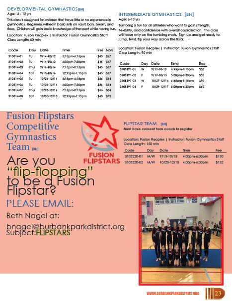 Gymnastics at Fusion